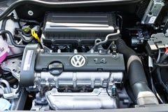 Motore 2014 di Volkswagen Polo fotografie stock