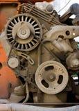 Motore diesel Fotografie Stock Libere da Diritti