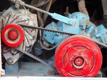 Motore diesel di potere del grande bus del trasporto Immagine Stock