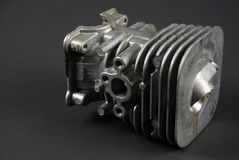 Motore e carburator Immagine Stock