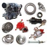 Motore e poche parti automobilistiche immagini stock libere da diritti