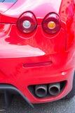 Motore eccellente delle automobili sportive di maserasti di Ferrari e Fotografia Stock