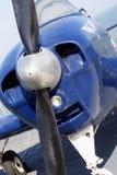 Motore ed elica dell'aereo Fotografia Stock Libera da Diritti