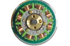 Motore elettrico fotografia stock