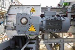 Motore elettrico potente immagini stock libere da diritti