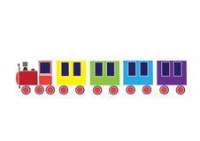 Motore ferroviario Immagini Stock