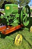 Motore a gas antico ristabilito di John Deere Fotografia Stock