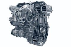 Motore a gas dell'automobile. Fotografie Stock Libere da Diritti