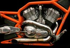 Motore gemellare Fotografie Stock