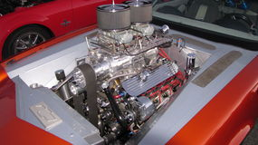 Motore impressionante fotografia stock