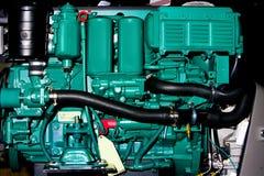 Motore interno della barca Fotografie Stock
