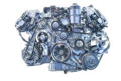 Motore isolato Fotografie Stock Libere da Diritti