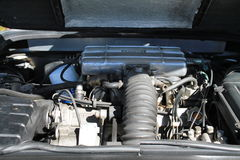 Motore italiano dell'automobile sportiva Immagine Stock Libera da Diritti