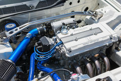 Motore potente alta tecnologia di Honda dell'automobile sportiva Fotografia Stock