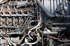 Motore - primo piano Immagine Stock