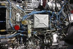 Motore a propulsione del Turbo fotografia stock
