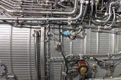 Motore a propulsione del Turbo Immagine Stock