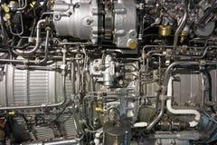 Motore a propulsione del Turbo immagini stock