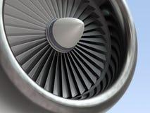 Motore a propulsione di Turbo fotografie stock libere da diritti