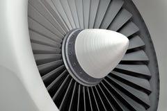 Motore a propulsione di Turbo fotografia stock libera da diritti