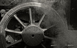 Motore a vapore Fotografie Stock Libere da Diritti