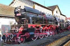Motore a vapore dell'annata Fotografia Stock