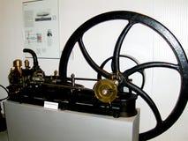 Motore a vapore nel museo tecnico di Vienne Fotografia Stock Libera da Diritti