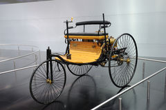 Motore-wagen di brevetto del benz Fotografie Stock Libere da Diritti