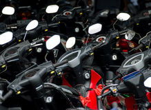 Motoren royalty-vrije stock foto's