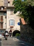 Motoren bij de Historische Grand Prix 2017 van Bergamo Royalty-vrije Stock Fotografie