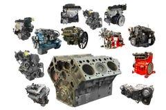 Motoren van een auto Stock Fotografie
