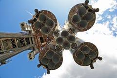 Motorer av raket Arkivfoton