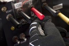 motorer startar ditt Arkivfoton