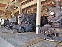 Motores antiguos en Carolina Transportation Museum del norte Fotografía de archivo libre de regalías