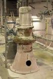 Motores bondes poderosos para o equipamento industrial moderno Imagens de Stock