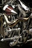 Motores da bicicleta de Terminater Fotografia de Stock Royalty Free