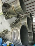 Motores de Saturno V Rocket Fotos de Stock