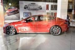 Motores de Tesla Fotografía de archivo libre de regalías