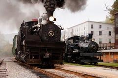 Motores de vapor de Shay Fotos de archivo