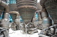 Motores del â de Saturno V Imagenes de archivo