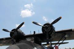 Motores del bombardero WW2 Fotos de archivo