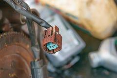 Motores diesel eletronicamente obstruídos imagens de stock