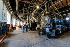 Motores do trem do vapor Fotos de Stock