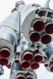 Motores e veículo de lançamento do bocal Imagem de Stock Royalty Free
