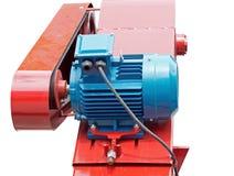 Motores eléctricos grandes Imagen de archivo libre de regalías