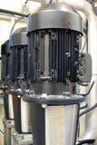 Motores elétricos Fotografia de Stock