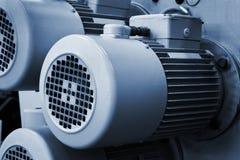 Motores eléctricos Foto de archivo libre de regalías