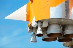 Motores espaciales fotos de archivo