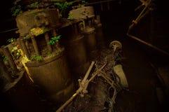 Motores silenciosos Foto de archivo