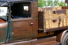 motorförbundet 1929 Ford Delivery Truck Arkivfoto